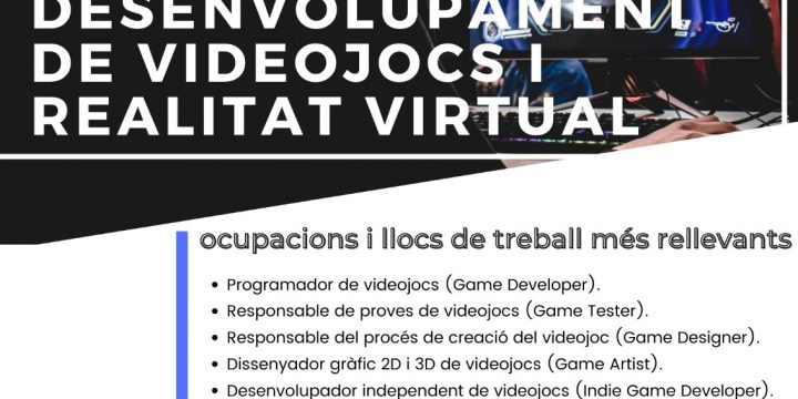 Curs d'especialització en VideoJocs i Realitat Virtual